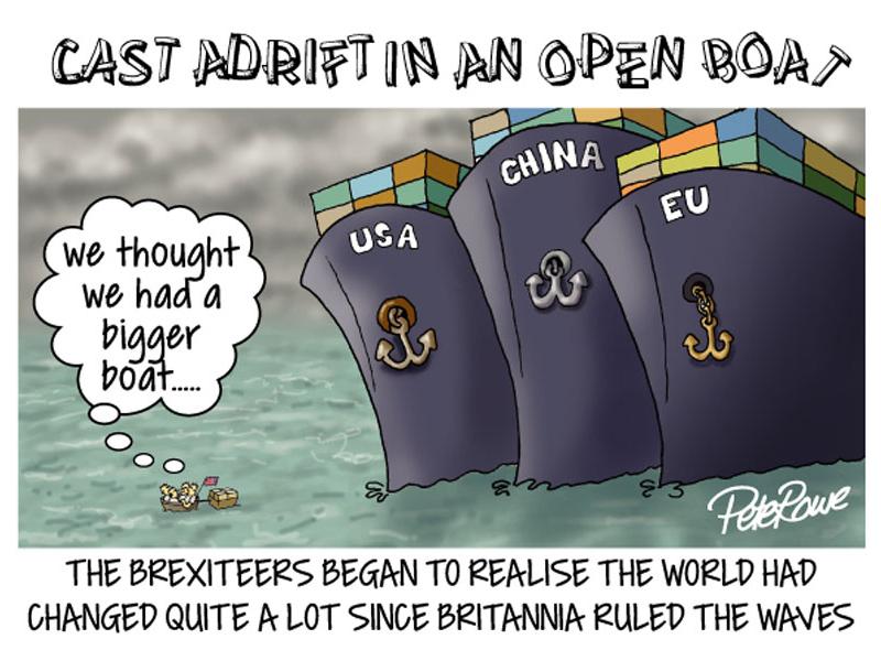 Brexit Cartoon cartoon illustration