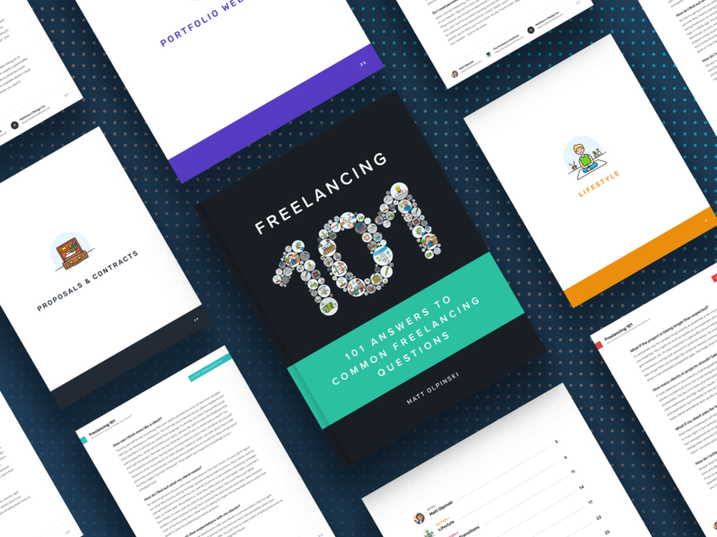 Freelancing 101 eBook [Free Download!] freelance freebie book cover graphic design pdf design ebook design ebook cover ebook