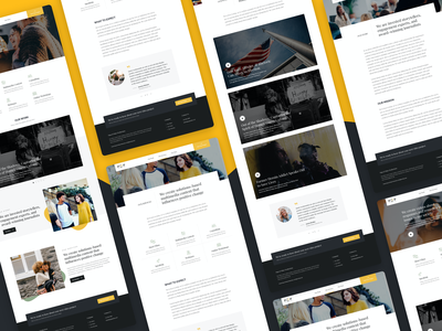 Papa & Pokey Marketing Website media video typography marketing web website interface ui design
