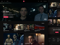 Cinematique Home Page (Dark Version)