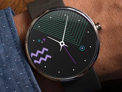 Pop Watch purple iwatch applewatch android wild 80s pop wearable clock watchos watch moto360