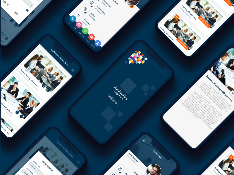 Event Application Ui Design web website ui ux designer application design application app design app ux ui design