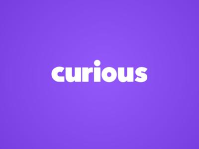 curious logotype