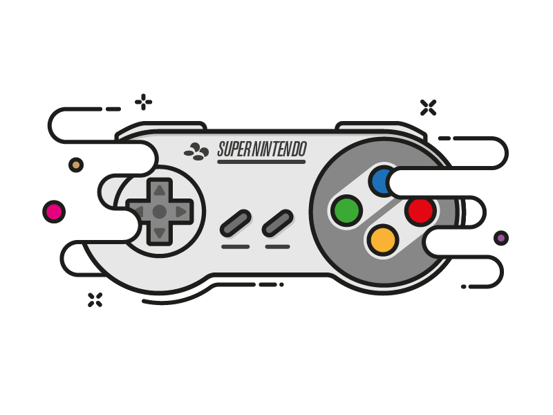 Super Nintendo snes illustration super nintendo illustration snes nintendo super