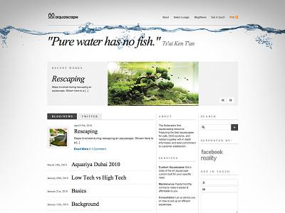 Aquascape Blog