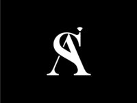 S & A - Wedding Invite Monogram