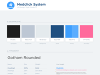 Medclick Ui Style Guide Version 1