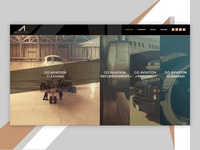 Aviation Services Web Design