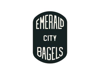 Emerald City Bagels alt logo
