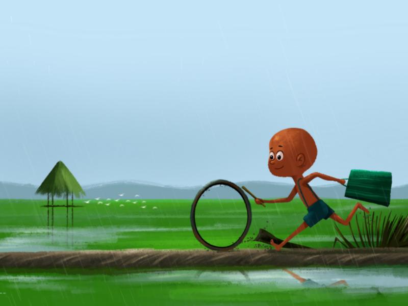 Monsoon kid