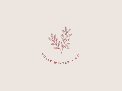 Holly Winter + Co. Logo