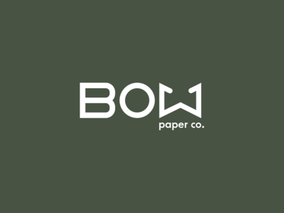 Bow Paper Co. Logo