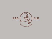 Red Elk Brandy Logo