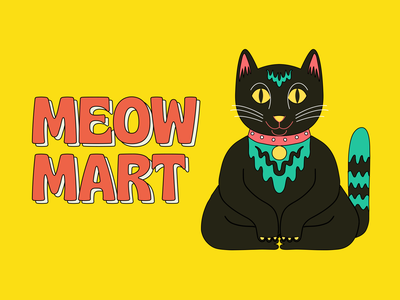 Meow Mart: A new game from Mailchimp! design arcade mailchimp animation motion design illustration game corner store bodega meow cat