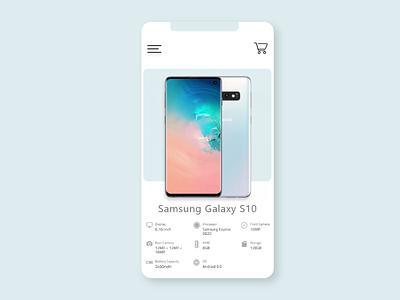 BeliAja App - Phone Ecommerce minimal ux ui illustration flat design