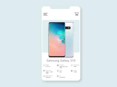 BeliAja App - Phone Ecommerce
