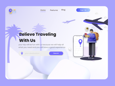 TRAVELIN APPS logo graphic design app website web illustration ux ui flat design