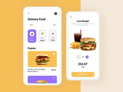 Food Delivery Burger App web designer dribbble design ilustrasi ui uiux designer designinspiration designers grafic design webdesign figma uiuxdesigner drible invite dribble uikeren uiuxdesign uicreative ui design uiux
