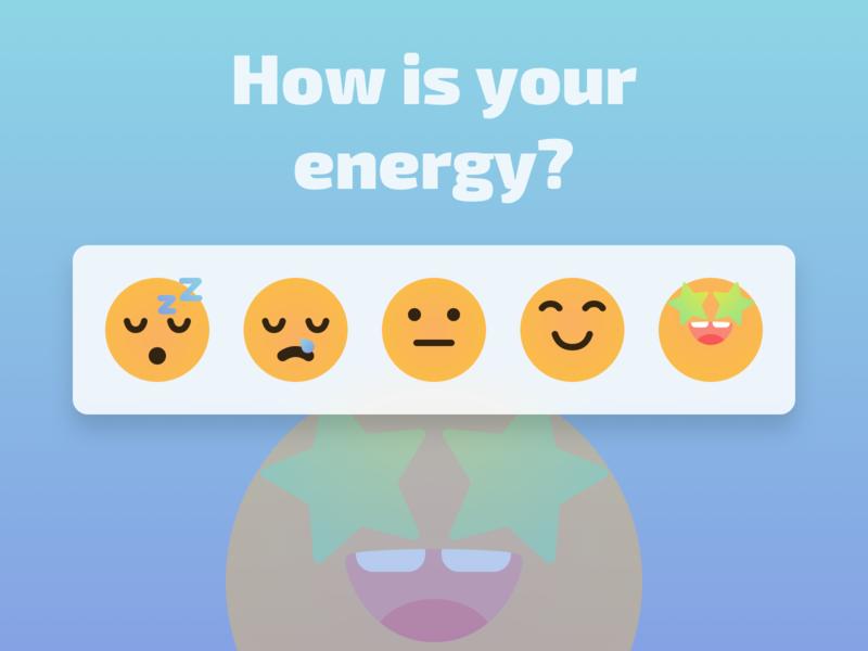 Measuring Energy illustration app ui  ux design agency