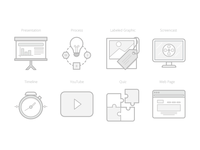 Lesson Type Icons