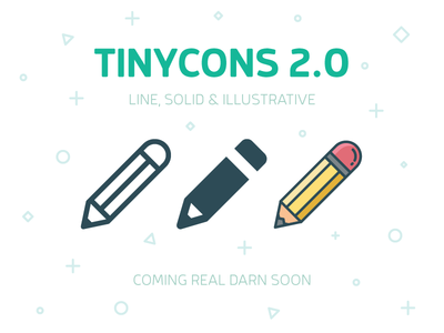Tinycons 2.0 illustration solid line bell vic design pencil download free store icon tinycon