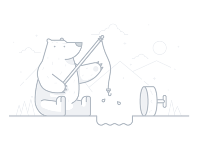 No Results search results no mountain line fishing ice illustration bear
