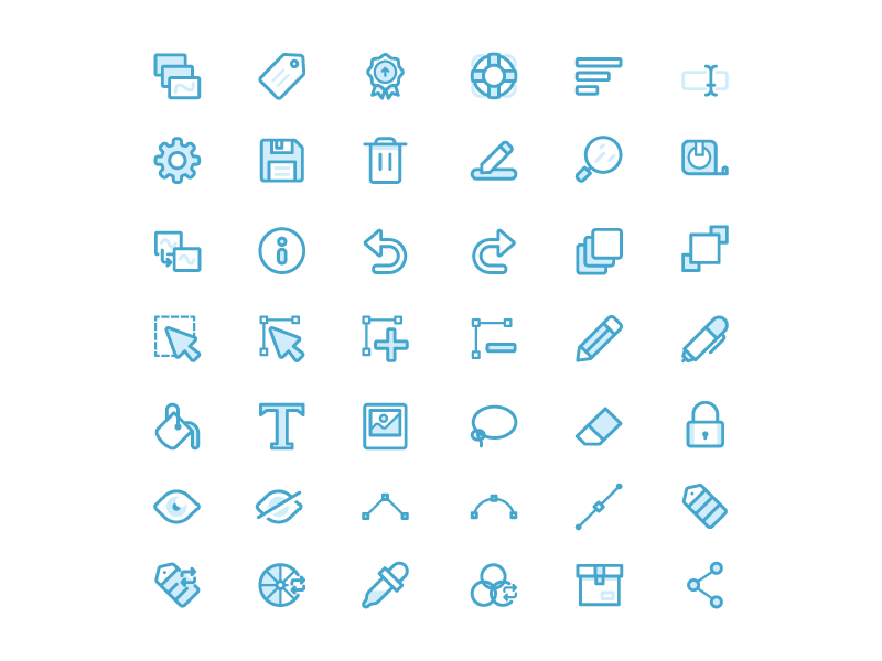 Skedio Icons tool app drawing illustration icon