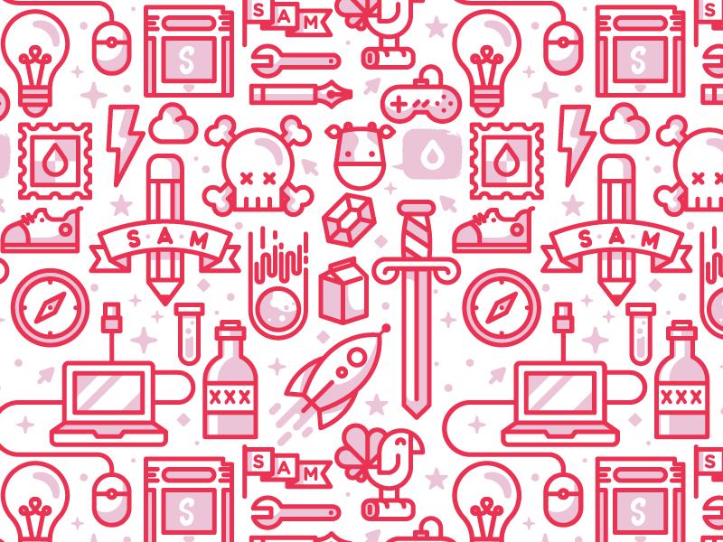 Simple As Milk  download free line sword design tech pattern icon illustration milk as simple