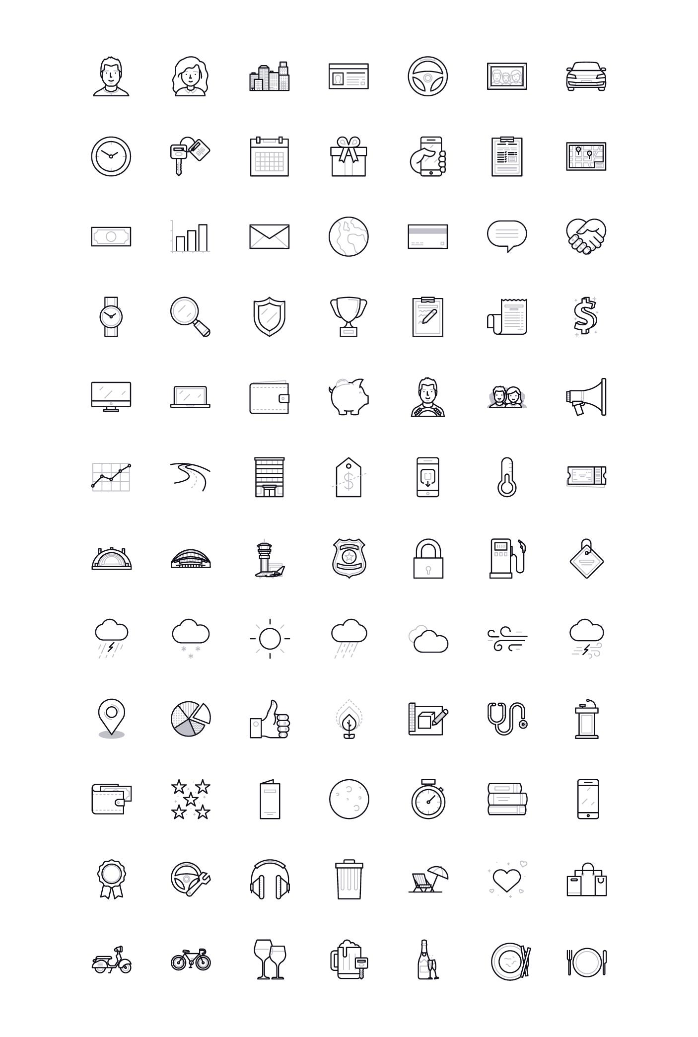 Uber icons att