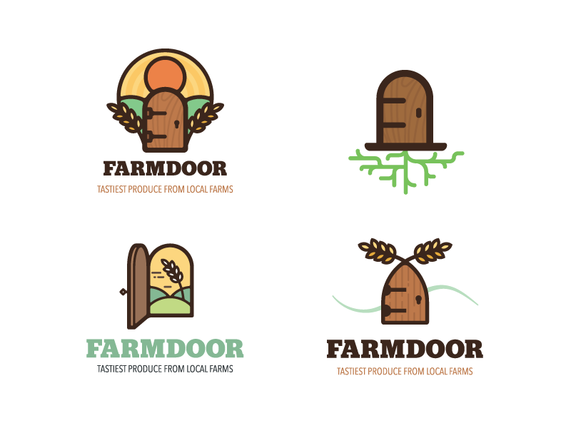 Farmdoor brand development
