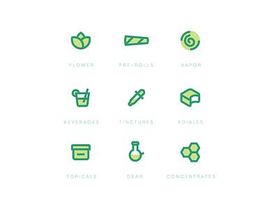 Fynd Iconography drink gear edibles vapor flower preroll leaf cannabis icon brand fynd