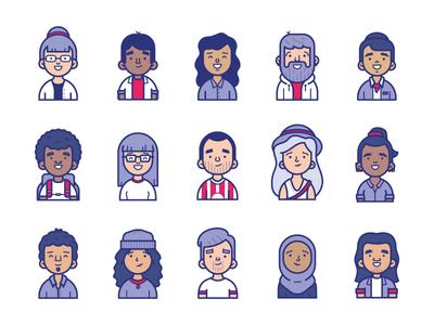 Street Team Characters