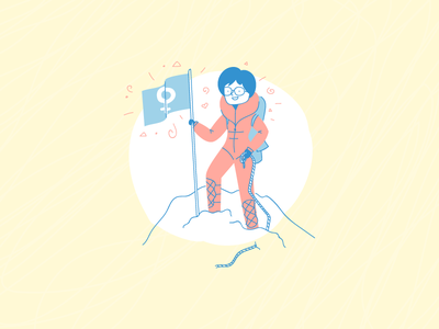 Junko Tabei mountain climber everest womens international day month women illustration tabei junko