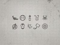 Avengers Icon Set