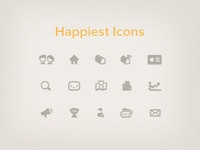 Happiest icons