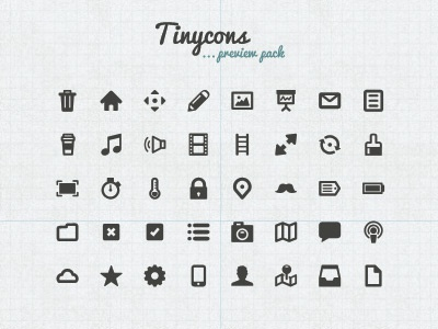 Tinycons free preview pack speaker tick icon icons cloud cross ladder camera arrow mail trash speech user tinycon vector phone web illustration lock watch image refresh home map signal box tray document pencil vicbell