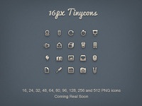 16px Tinycons Preview