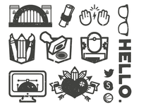 Icons and Badges