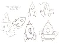 Voltronik Rocket Sketch