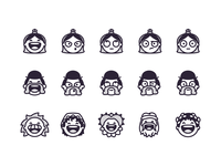 Victorian Emoji's