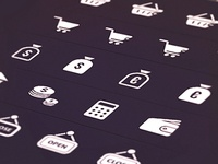 Commerce and Finance Icons