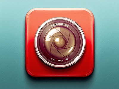 Camera app icon camera app icon icon design ios app icon lens camera lens camera icon
