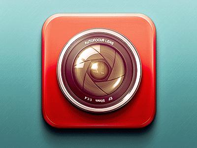 Camera app icon camera app icon icon design ios app icon lens camera lens camera icon