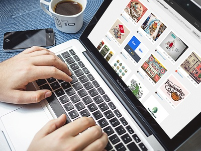 Macbook Pro Mockup macbook macbook mockup website design website mockup psd iphone coffee cup photo mockup retro vintage