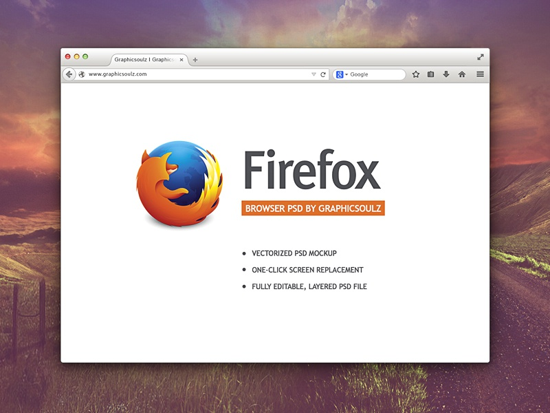 Free Firefox Browser Mockup firefox browser mockup free free browser mockup free psd freebie firefox browser