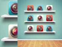 Shelves Mockup