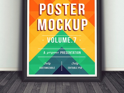 Poster Mockup poster mockup frame poster mockup flyer mockup artwork psd label wall abstract background background