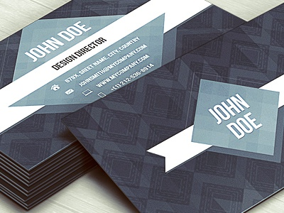 Business Card Template business card contact vcard id business card psd template business card design