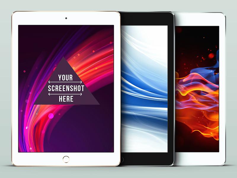 iPad Air 2 PSD Mockup ipad free freebie free ipad mockup psd mockup ipad air ipad air 2 ipad air 2 mockup free ipad air 2 psd
