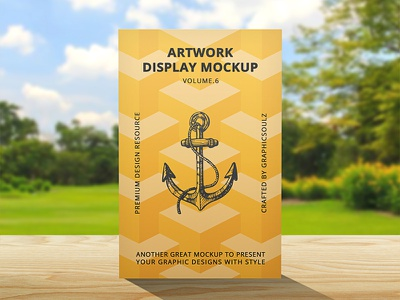 Artwork Display Mockup psd resources showcase poster mockup flyer print mockup artwork psd mockup mockup poster